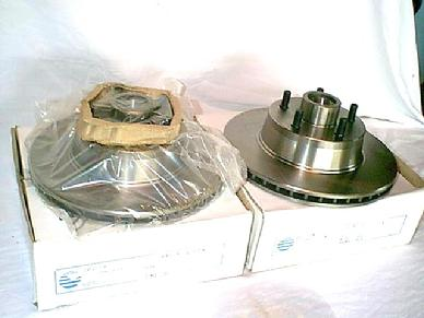 1968 1969 MUSTANG COUGAR FAIRLANE FALCON CYCLONE DISC BRAKE ROTORS (2)