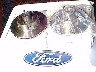 1965 1966 1967 MUSTANG FAIRANE COUGAR CYCLONE DISC BRAKE ROTORS