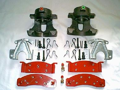 Classic Mustang Disc Brake Conversions and Power Steering