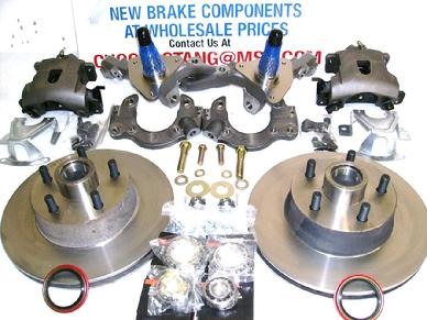70 71 73 MUSTANG FAIRLANE TORINO BIG BEARING DISC BRAKE